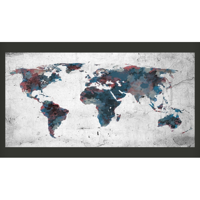 Photos World Map.Fototapetai World Map On The Wall Nuspalvinknamus Lt